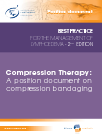 Compression bandaging cover